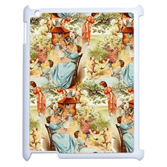 Seamless Vintage Design Apple Ipad 2 Case (white) by Celenk