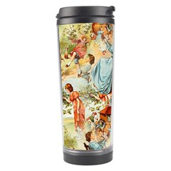 Seamless Vintage Design Travel Tumbler by Celenk