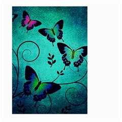 Texture Butterflies Background Large Garden Flag (two Sides) by Celenk