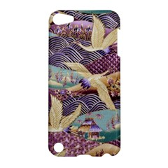 Textile Fabric Cloth Pattern Apple Ipod Touch 5 Hardshell Case by Celenk