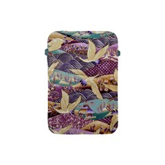 Textile Fabric Cloth Pattern Apple Ipad Mini Protective Soft Cases by Celenk