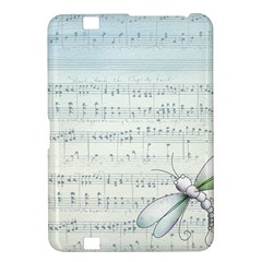 Vintage Blue Music Notes Kindle Fire Hd 8 9  by Celenk
