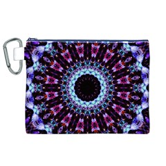 Kaleidoscope Shape Abstract Design Canvas Cosmetic Bag (xl) by Celenk