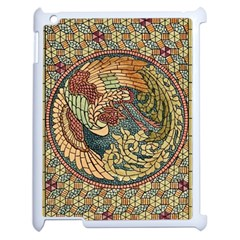 Wings Feathers Cubism Mosaic Apple Ipad 2 Case (white) by Celenk