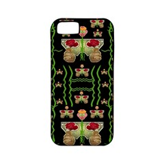 Roses In The Soft Hands Makes A Smile Pop Art Apple Iphone 5 Classic Hardshell Case (pc+silicone) by pepitasart