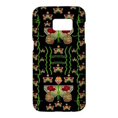 Roses In The Soft Hands Makes A Smile Pop Art Samsung Galaxy S7 Hardshell Case  by pepitasart