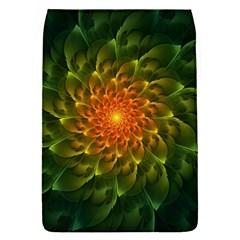 Beautiful Orange Green Desert Cactus Fractalspiral Flap Covers (s)  by beautifulfractals