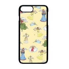 Christmas Angels  Apple Iphone 7 Plus Seamless Case (black) by Valentinaart