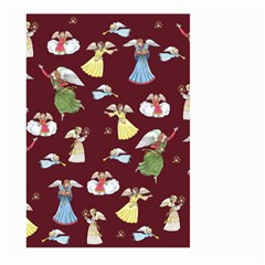 Christmas Angels  Large Garden Flag (two Sides) by Valentinaart