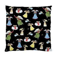 Christmas Angels  Standard Cushion Case (one Side) by Valentinaart