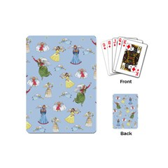 Christmas Angels  Playing Cards (mini)  by Valentinaart