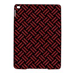 Woven2 Black Marble & Red Denim (r) Ipad Air 2 Hardshell Cases by trendistuff