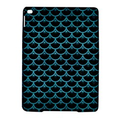 Scales3 Black Marble & Teal Brushed Metal (r) Ipad Air 2 Hardshell Cases by trendistuff