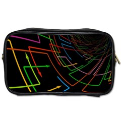 Arrows Direction Opposed To Next Toiletries Bags 2 Side by Celenk