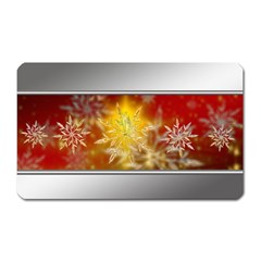 Christmas Candles Christmas Card Magnet (rectangular)