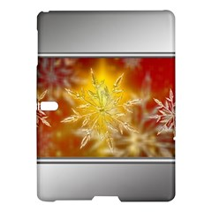 Christmas Candles Christmas Card Samsung Galaxy Tab S (10 5 ) Hardshell Case  by Celenk