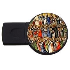 All Saints Christian Holy Faith Usb Flash Drive Round (4 Gb) by Celenk
