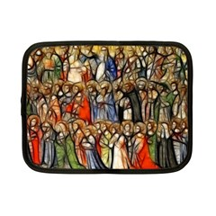 All Saints Christian Holy Faith Netbook Case (small)  by Celenk