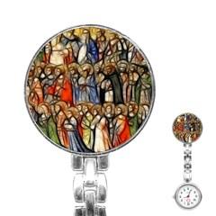 All Saints Christian Holy Faith Stainless Steel Nurses Watch by Celenk