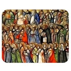 All Saints Christian Holy Faith Double Sided Flano Blanket (medium)  by Celenk