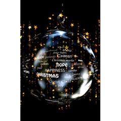 Christmas Star Ball 5 5  X 8 5  Notebooks by Celenk