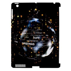 Christmas Star Ball Apple Ipad 3/4 Hardshell Case (compatible With Smart Cover) by Celenk