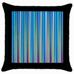 Colorful Color Arrangement Throw Pillow Case (black) by Celenk
