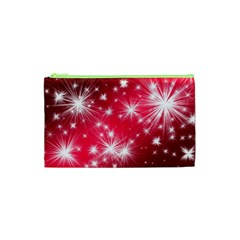 Christmas Star Advent Background Cosmetic Bag (xs) by Celenk