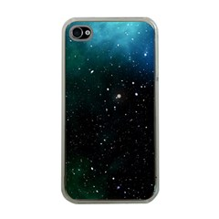 Galaxy Space Universe Astronautics Apple Iphone 4 Case (clear) by Celenk