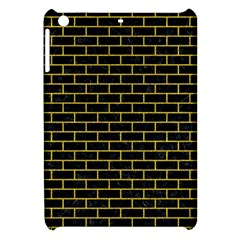 Brick1 Black Marble & Yellow Denim (r) Apple Ipad Mini Hardshell Case by trendistuff