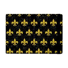 Royal1 Black Marble & Yellow Denim Ipad Mini 2 Flip Cases by trendistuff