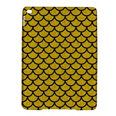 Scales1 Black Marble & Yellow Denim Ipad Air 2 Hardshell Cases by trendistuff