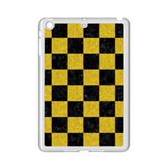 Square1 Black Marble & Yellow Denim Ipad Mini 2 Enamel Coated Cases by trendistuff