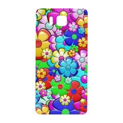 Flowers Ornament Decoration Samsung Galaxy Alpha Hardshell Back Case by Celenk