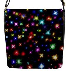 Fireworks Rocket New Year S Day Flap Messenger Bag (s) by Celenk