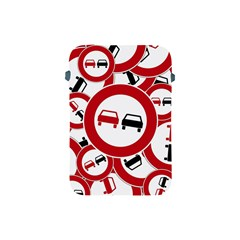 Overtaking Traffic Sign Apple Ipad Mini Protective Soft Cases by Celenk
