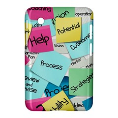 Stickies Post It List Business Samsung Galaxy Tab 2 (7 ) P3100 Hardshell Case  by Celenk