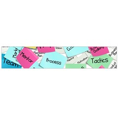 Stickies Post It List Business Large Flano Scarf