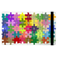 Puzzle Part Letters Abc Education Apple Ipad Pro 12 9   Flip Case by Celenk