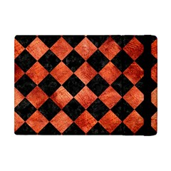 Square2 Black Marble & Copper Paint Apple Ipad Mini Flip Case by trendistuff