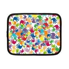 Volunteers Hands Voluntary Wrap Netbook Case (small)  by Celenk