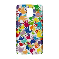 Volunteers Hands Voluntary Wrap Samsung Galaxy Note 4 Hardshell Case by Celenk