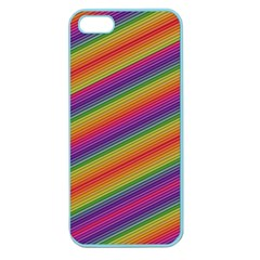 Spectrum Psychedelic Green Apple Seamless Iphone 5 Case (color) by Celenk