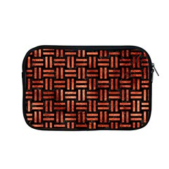 Woven1 Black Marble & Copper Paint (r) Apple Macbook Pro 13  Zipper Case by trendistuff