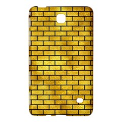 Brick1 Black Marble & Gold Paint Samsung Galaxy Tab 4 (8 ) Hardshell Case  by trendistuff