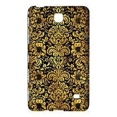 Damask2 Black Marble & Gold Paint (r) Samsung Galaxy Tab 4 (7 ) Hardshell Case  by trendistuff