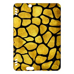 Skin1 Black Marble & Gold Paint (r) Kindle Fire Hdx Hardshell Case by trendistuff