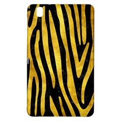 Skin4 Black Marble & Gold Paint Samsung Galaxy Tab Pro 8 4 Hardshell Case by trendistuff