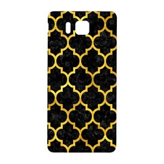 Tile1 Black Marble & Gold Paint (r) Samsung Galaxy Alpha Hardshell Back Case by trendistuff