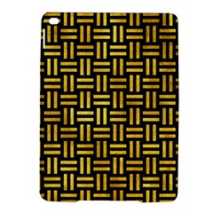 Woven1 Black Marble & Gold Paint (r) Ipad Air 2 Hardshell Cases by trendistuff